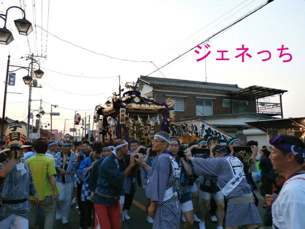 騎西夏祭り2014神輿