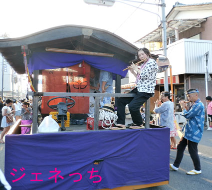 騎西夏祭り2014笛