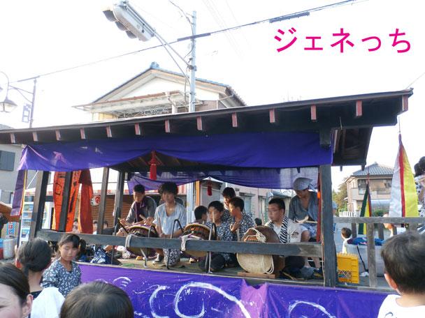 騎西夏祭り2014太鼓
