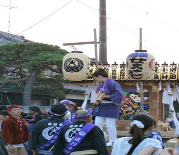 騎西夏祭り2014女神輿