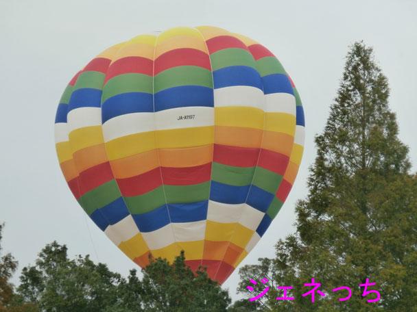 銀杏祭2014熱気球