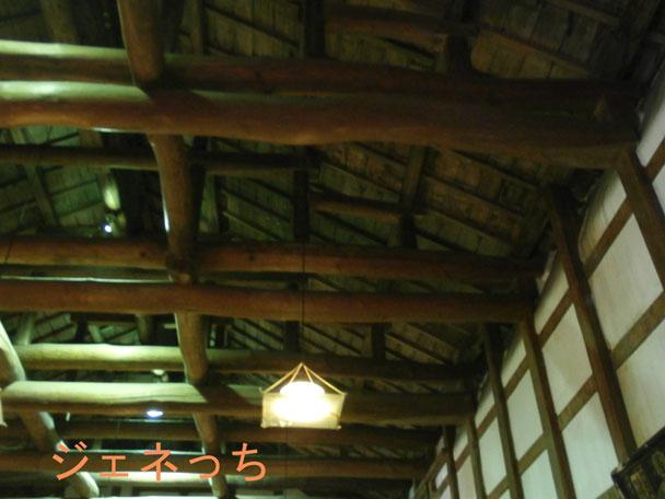 大正蔵部屋の中天井