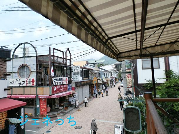 ミカドコーヒー軽井沢店テラ
