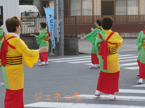 花笠愛好会の素敵な踊り