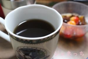 お水取りのお水を、コーヒー淹れて美味しくいただきました