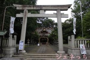 玉敷神社 2020年7月1日にて